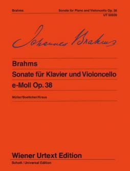 Brahms - Sonate E-moll Op.38 Violoncelle / Piano