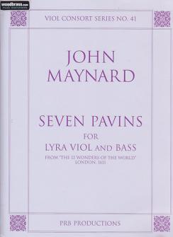 Maynard J. - Seven Pavins For Lyra V& Bass Viols