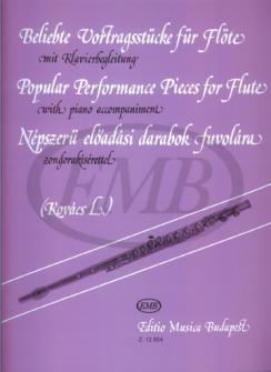 Kovacs L. - Popular Performance Pieces - Flute, Piano
