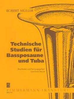 Muller Robert - Technische Stuidien - Trombone