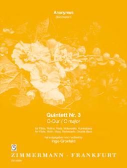 Anonymus (boccherini?) - Quintett Nr. 3 C-dur