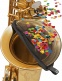 ACST - COVER BELL CONFETTI PROTECTOR FOR TENOR SAXOPHON