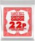 .022 PLAIN STEEL ELECTRIC OR ACOUSTIC GUITAR STINGS