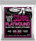 SUPER SLINKY FLATWOUND ELECTRIC BASS STRINGS 45-100