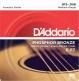 EJ17 PHOSPHOR BRONZE ACOUSTIC GUITAR STRINGS MEDIUM 13-56