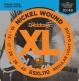 ESXL110 NICKEL WOUND ELECTRIC GUITAR STRINGS REGULAR LIGHT DOUBLE BALL END 10-46