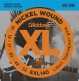 EXL140 NICKEL WOUND ELECTRIC GUITAR STRINGS LIGHT TOP/HEAVY BOTTOM 10-52