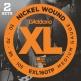 EXL160TP NICKEL WOUND BASS GUITAR STRINGS MEDIUM 50-105 2 SETS LONG SCALE