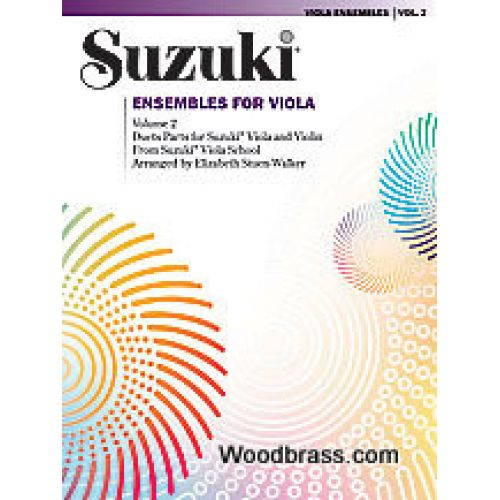 ALFRED PUBLISHING SUZUKI - ENSEMBLES FOR VIOLA VOL.2
