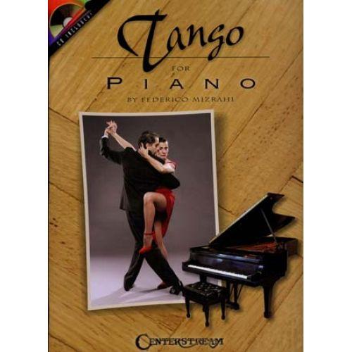 HAL LEONARD MIZRAHI FEDERICO - TANGO FOR PIANO + CD
