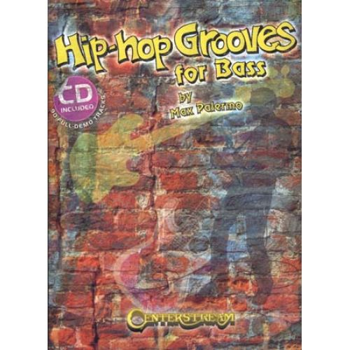 HAL LEONARD PALERMO MAX - HIP-HOP GROOVES FOR BASS TAB + CD