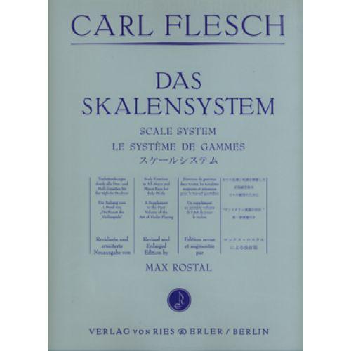RIES UND ERLER FLESCH CARL - DAS SKALENSYSTEM - KONTRABASS