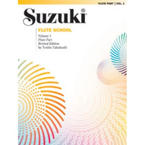 ALFRED PUBLISHING SUZUKI FLUTE SCHOOL - FLUTE PART - VOL.1