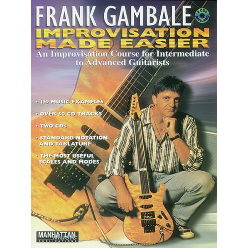 ALFRED PUBLISHING GAMBALE FRANK - IMPROVISATION MADE EASIER - GUITAR