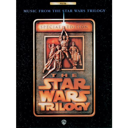 ALFRED PUBLISHING WILLIAMS JOHN - STAR WARS TRILOGY - FLUTE