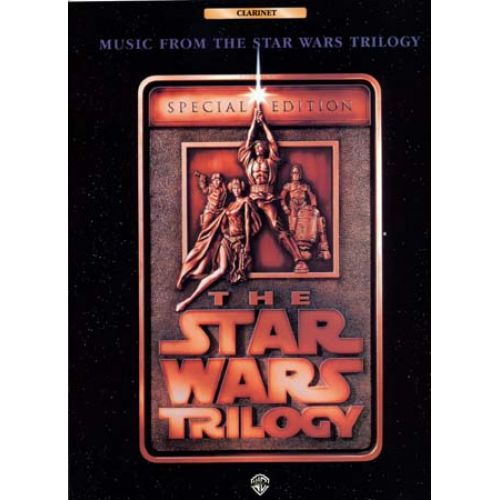 WARNER BROS WILLIAMS JOHN - STAR WARS TRILOGY CLARINET