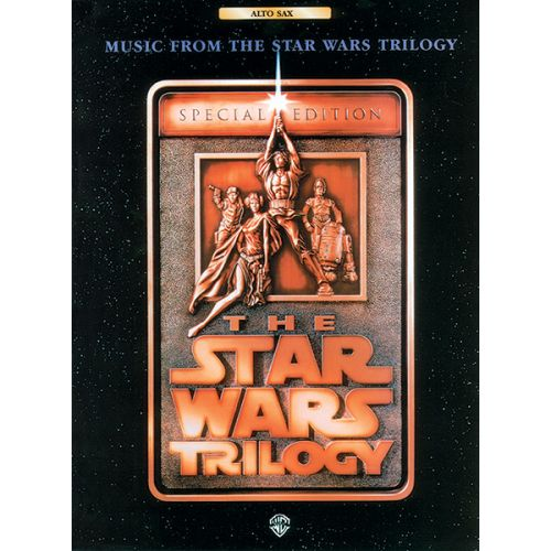 ALFRED PUBLISHING WILLIAMS JOHN - STAR WARS TRILOGY - ALTO SAXOPHONE AND PIANO