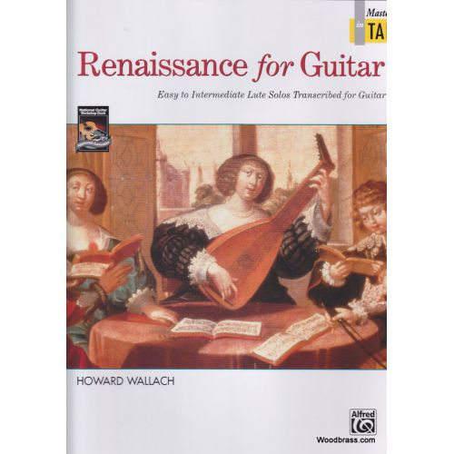 ALFRED PUBLISHING RENAISSANCE FOR GUITAR IN TAB - GUITAR