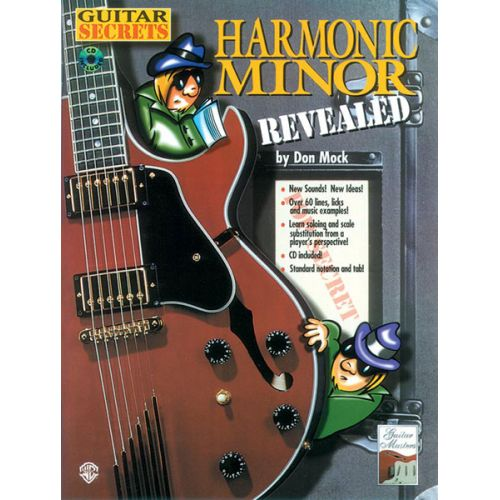 ALFRED PUBLISHING GUITAR SECRETS HARMONIC MINOR REVEALED - GUITAR