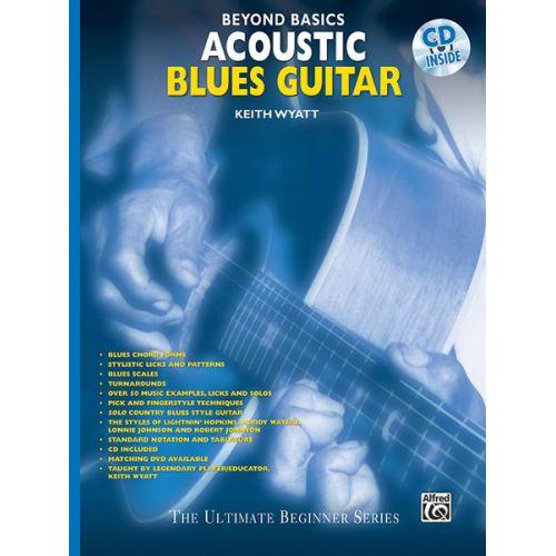 ALFRED PUBLISHING BEYOND BASICS ACOUSTIC BLUES + CD - GUITAR