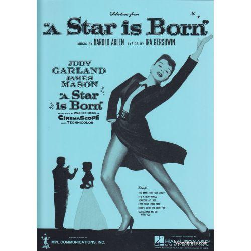 FABER MUSIC ARLEN H / GERSHWIN I - A STAR IS BORN - VOICE