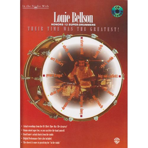ALFRED PUBLISHING LOUIE BELLSON - THEIR TIME WAS THE GREATEST + CD