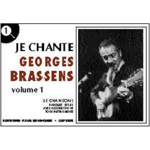 Paul Beuscher Publications Brassens Georges Je Chante Brassens