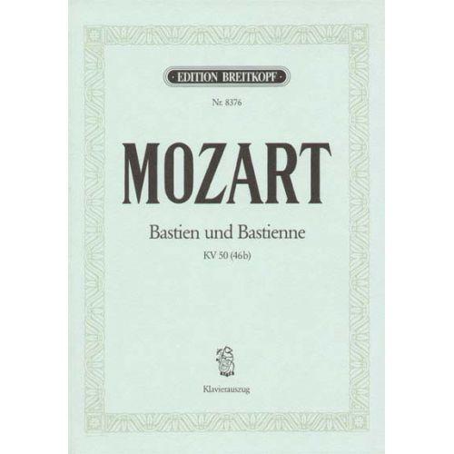EDITION BREITKOPF MOZART WOLFGANG AMADEUS - BASTIEN UND BASTIENNE KV 50 - PIANO