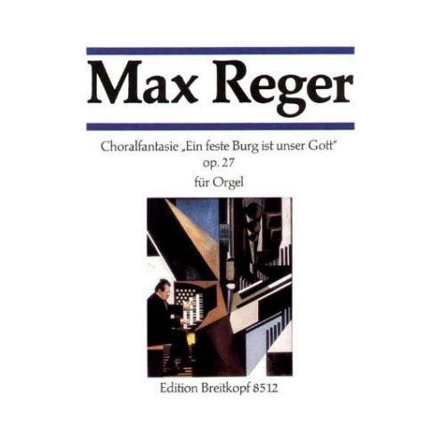 EDITION BREITKOPF REGER MAX - FANTASIE UBER