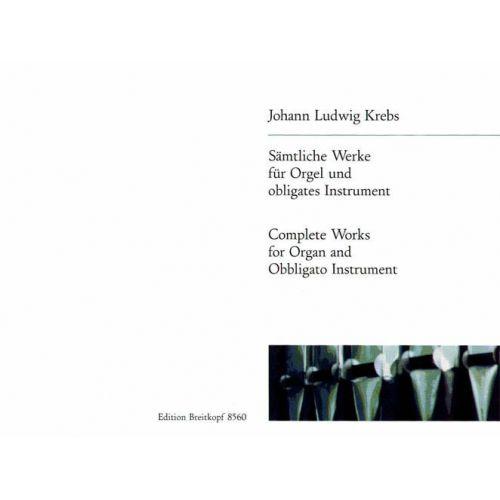 EDITION BREITKOPF KREBS J.L. - SAMTLICHE WERKE - ORGAN