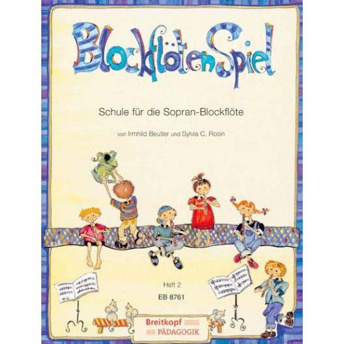 EDITION BREITKOPF BEUTLER/ROSIN - BLOCKFLOTENSPIEL 2 - RECORDER