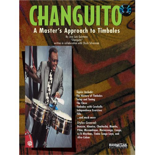 ALFRED PUBLISHING CHANGUITO TIMBALES + CD - PERCUSSION