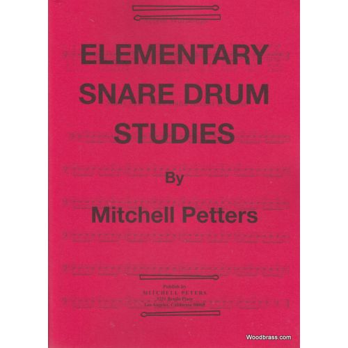 MITCHELL PETERS PETERS MITCHELL - ELEMENTARY SNARE DRUM STUDIES