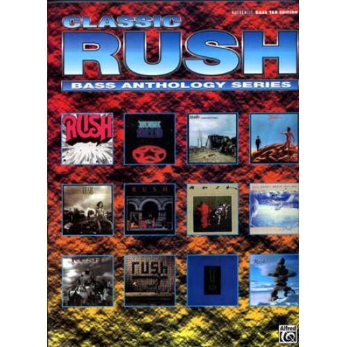ALFRED PUBLISHING RUSH - RUSH BASS ANTHOLOGY - BASS GUITAR TAB