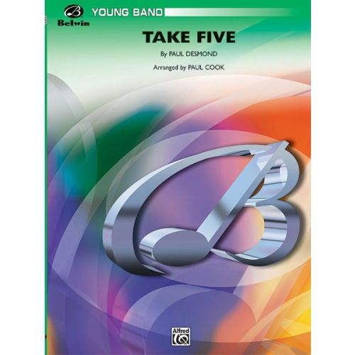 ALFRED PUBLISHING BRUBECK DAVE - TAKE FIVE - SYMPHONIC WIND BAND