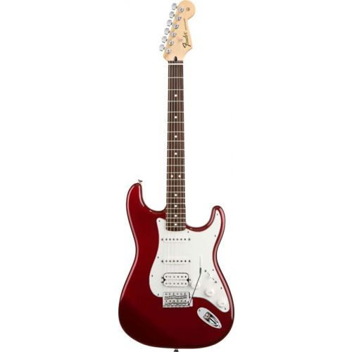 FENDER STRATOCASTER MEXICAN STANDARD HSS CANDY APPLE RED