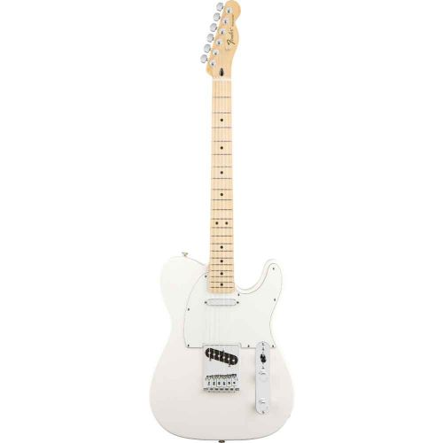 FENDER TELECASTER MEXICAN STANDARD ARCTIC WHITE