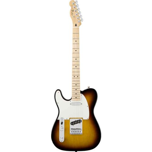 FENDER LINKSHAENDER MEXICAN STANDARD TELECASTER BROWN SUNBURST