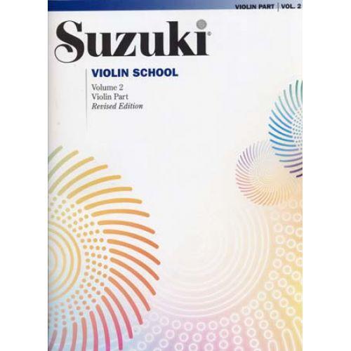 ALFRED PUBLISHING SUZUKI VIOLIN SCHOOL VIOLIN PART VOL.2 REV. EDITION