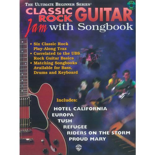 ALFRED PUBLISHING CLASSIC ROCK - GUITAR TAB