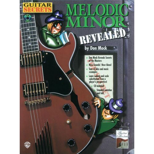 ALFRED PUBLISHING GUITAR SECRETS MELODIC MINOR - GUITAR