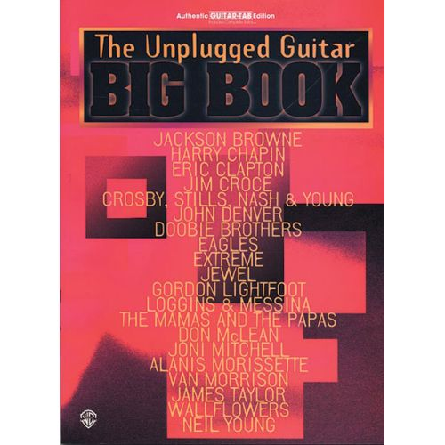 ALFRED PUBLISHING BIG BOOK UNPLUGGED - GUITAR TAB