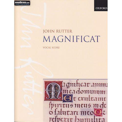OXFORD UNIVERSITY PRESS RUTTER J. - MAGNIFICAT - REDUCTION CHANT ET PIANO