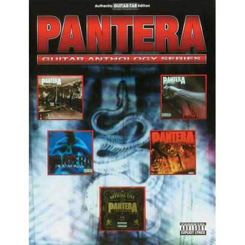 ALFRED PUBLISHING PANTERA - GUITAR ANTHOLOGY - GUITAR TAB