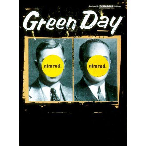 ALFRED PUBLISHING GREEN DAY - NIMROD - GUITAR TAB