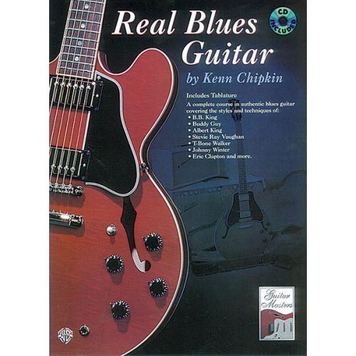 ALFRED PUBLISHING REAL BLUES GUITAR + CD - GUITAR