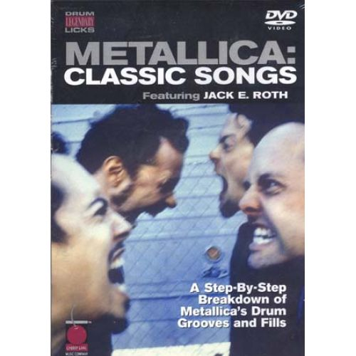 CHERRY LANE METALLICA - CLASSIC SONGS, DRUM LEGENDARY LICKS DVD