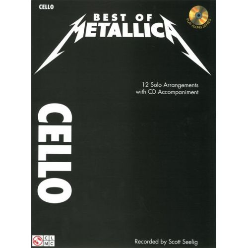 CHERRY LANE METALLICA - BEST OF METALLICA + CD - CELLO