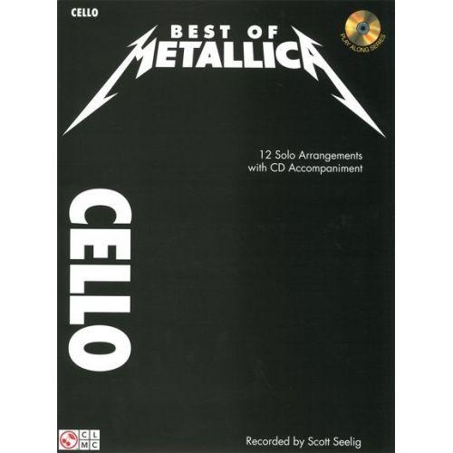 CHERRY LANE METALLICA - BEST OF METALLICA + CD - VIOLONCELLE