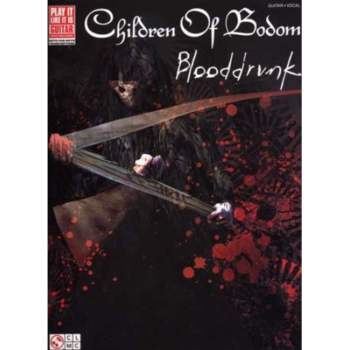 CHERRY LANE CHILDREN OF BODOM - BLOODDRUNK - GUITAR TAB